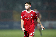 Accrington Stanley forward Billy Kee (29)  during the EFL Sky Bet League 1 match between Accrington Stanley and Bristol Rovers at the Fraser Eagle Stadium, Accrington, England on 12 January 2019.