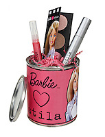 Barbie Stila assortment on white background