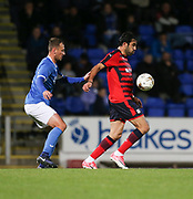06/10/2017 - St Johnstone v Dundee - Dave Mackay testimonial at McDiarmid Park, Perth, Picture by David Young - Dundee's Sofien Moussa