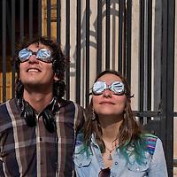 Eclissi solare parziale a Roma