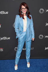 "Megan Mullally at The 2018 PaleyFest Los Angeles - NBC's ""Will & Grace""."