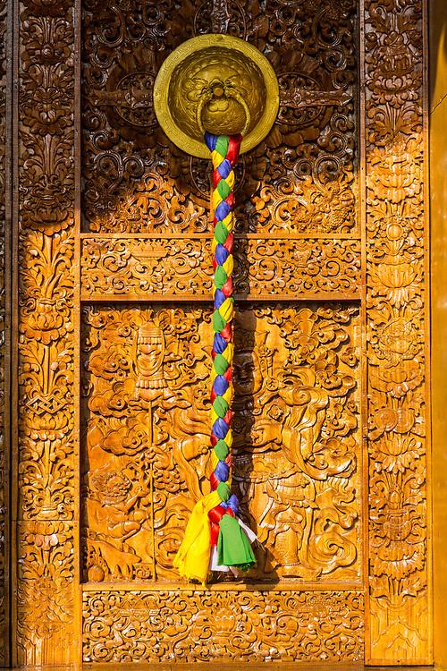 Temple doorway Bhutan