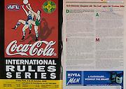 All Ireland Senior Hurling Championship - Final, .10.09.2000, 09.10.2000, 10th September 2000, .10092000AISHCF,.Senior Kilkenny v Offaly,.Minor Cork v Galway,.Kilkenny 5-15, Offaly 1-14, .Coca Cola, Nivea for Men,