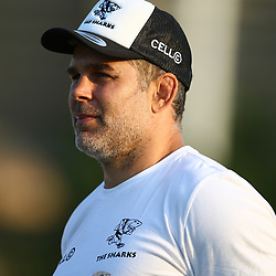 Nicholas Easter a former professional rugby union player, who played as a Number 8 for Harlequins and the England national team, and is now part of the Harlequins coaching staff during the Cell C Sharks training, Jonsson Kings Park Stadium,Durban South Africa.27,06,2018 Photo by (Steve Haag REX Shutterstock )