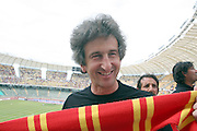 Foto di Donato Fasano - LaPresse.15  05  2011  Bari ( Italia ).Sport Calcio.AS Bari -  Us Lecce   TIM Serie A 2010  2011 - Stadio San Nicola Bari.Nella foto: sindaco di lecce paolo perrone .Photo Donato Fasano - LaPresse.15  05  2011 Bari ( Italy ).Sport Soccer.AS Bari  - Us Lecce Serie  A Soccer League 2010 2011- San Nicola Stadium Bari.In the Photo: sindaco di lecce paolo perrone