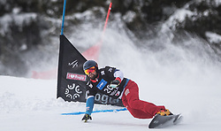 Fluetsch Kaspar during the FIS snowboarding world cup race in Rogla (SI / SLO) | GS on January 20, 2018, in Jasna Ski slope, Rogla, Slovenia. Photo by Urban Meglic / Sportida