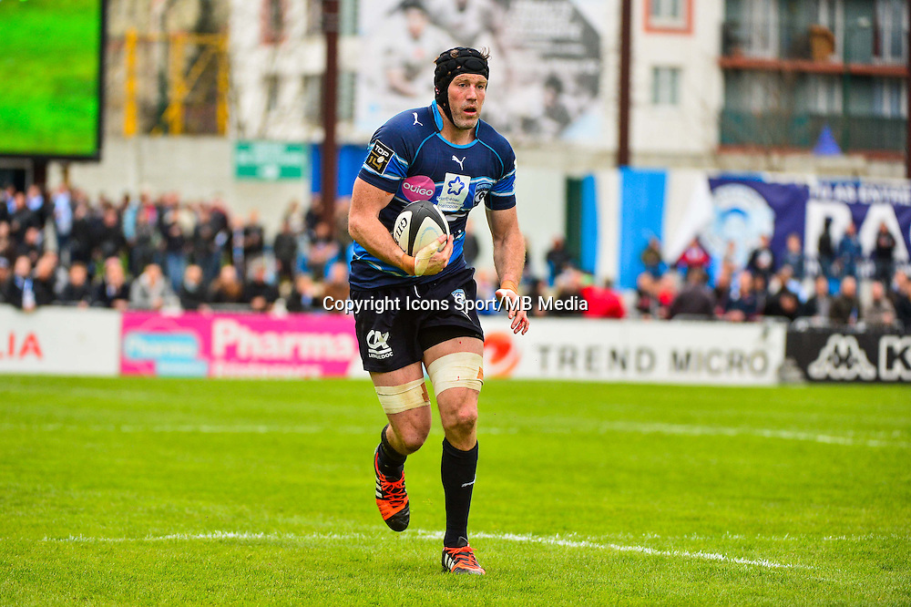 Tom DONNELLY  - 11.04.2015 - Racing Metro / Montpellier  - 22eme journee de Top 14 <br />