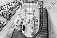 Stairway, Villa Maria, Water Mill, NY