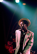 Gregory Isaacs in concert