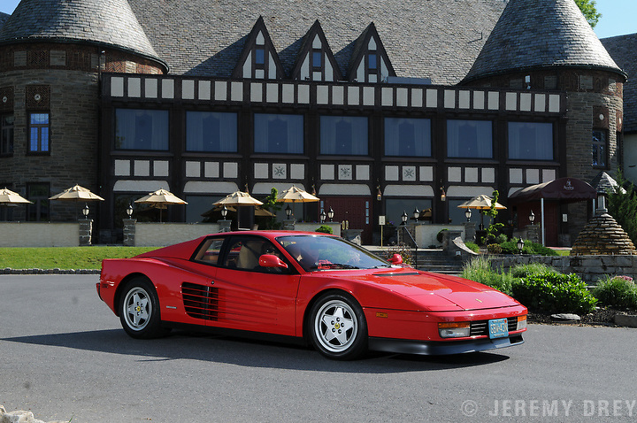 Reading Ferrari Concours 2012 at the Reading Country Club.