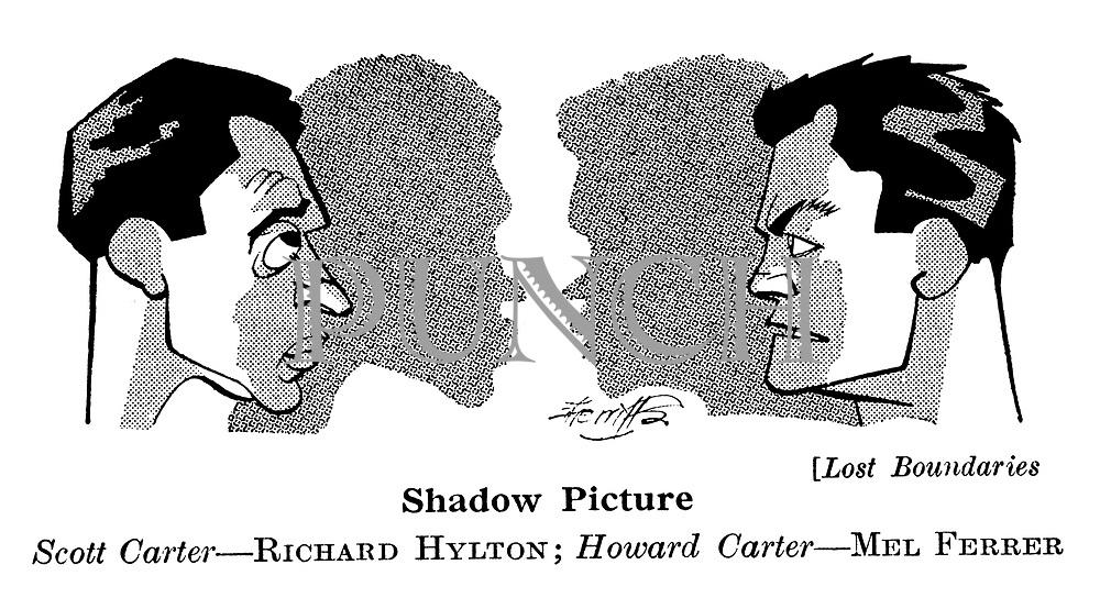 Lost Boundaries ; Richard Hylton and Mel Ferrer