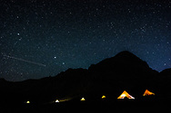 Munzur Mountains, Turkey  - July 23, 2014 - Nomadic tents at night, in the Munzur Mountains. CREDIT: Michael Benanav for The New York Times