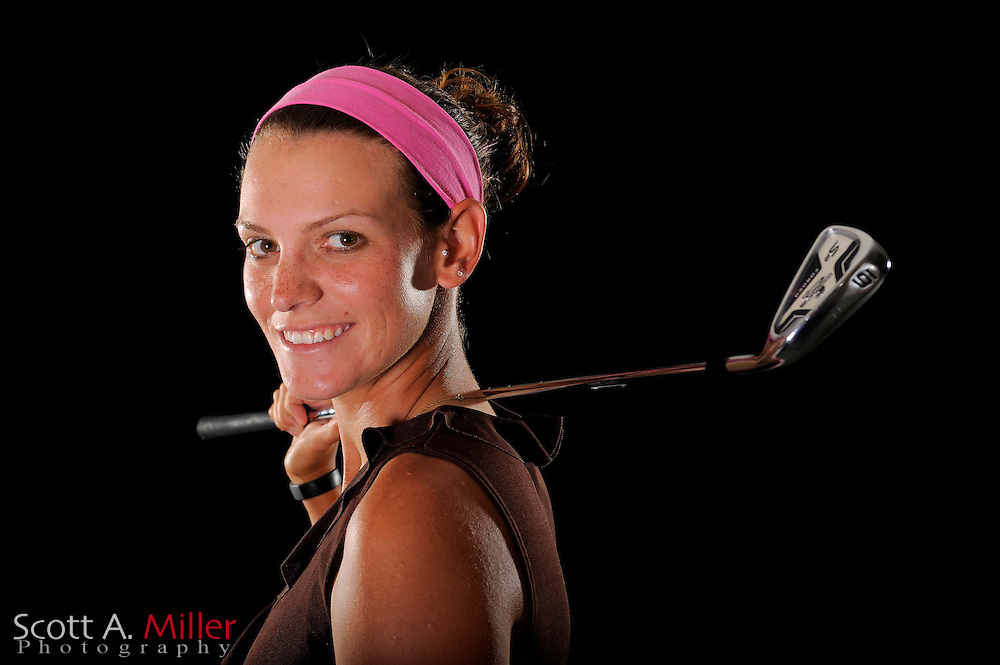 Delores White during a portrait shoot prior to the LPGA Futures Tour's Daytona Beach Invitational at LPGA International's Championship Courser on March 30, 2011 in Daytona Beach, Florida... ©2011 Scott A. Miller