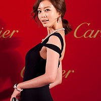 HONG KONG - NOVEMBER 26:  South Korea actress Leslie Kim attends the Cartier Flagship Opening on November 26, 2010 in Hong Kong.  Photo by Victor Fraile / studioEAST *** Local Caption *** Leslie Kim