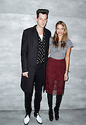 Mark Ronson and Charlotte Ronson attend the Charlotte Ronson presentation during the Mercedes-Benz Fall/Winter 2015 shows at the Pavilion in Lincoln Center in New York City, New York on February 13, 2015.