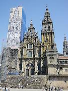 Spain, Galicia, Santiago de Compostela, Cathedral