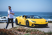 August 15, 2019:  Monterey Car Week Zack Mclure, Digital & Content Marketing