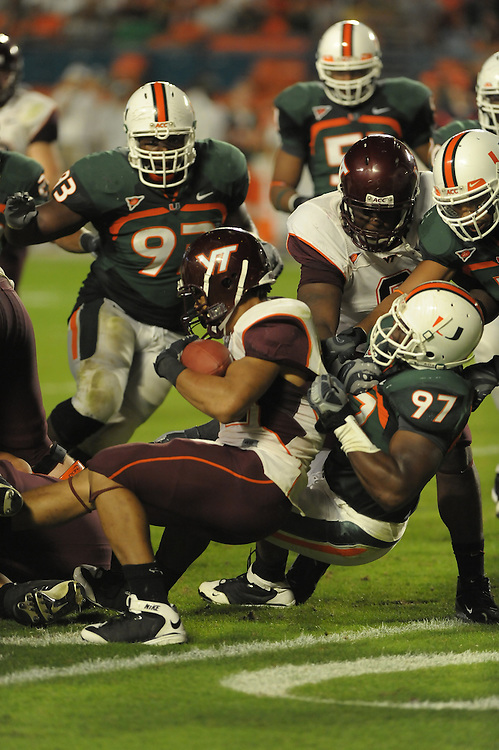 2008 Miami Hurricanes Football vs Virginia Tech
