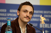Actor Franz Rogowski at the press conference for the film Undine at the 70th Berlinale International Film Festival, on Sunday 23rd February 2020, Hotel Grand Hyatt, Berlin, Germany. Photo credit: Doreen Kennedy