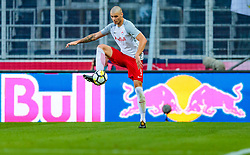 19.07.2017, Red Bull Arena, Salzburg, AUT, UEFA CL, FC Salzburg vs Hibernians FC, Qualifikation, 2. Runde, Rückspiel, im Bild Duje Caleta-Car (FC Red Bull Salzburg) // during the UEFA Championsleague Qualifier 2nd round, 2nd leg match between FC Salzburg and Hibernians FC at the Red Bull Arena in Salzburg, Austria on 2017/07/19. EXPA Pictures © 2017, PhotoCredit: EXPA/ JFK