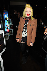 PAM HOGG at the premiere of Nokia's N8 short film 'The Commuter' held at Aqua, 30 Argyll Street, London on 25th October 2010.