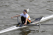 London, Great Britain, 2008 Scullers Head of the River Race,  Tash HOWARD, racing over the Championship Course, Mortlake to Putney, on the River Thames.   Saturday, 06/12/2008. [Mandatory Credit: ? Peter Spurrier/Intersport Images]. Rowing Course: River Thames, Championship course, Putney to Mortlake 4.25 Miles,