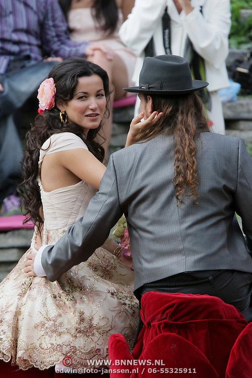 NLD/Amsterdam/20080718 - Huwelijk birgit Schuurman en Arne Toonen