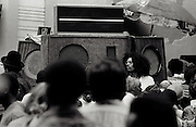 Sound System DJ at Notting Hill Carnival - 1979
