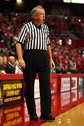 01 December 2010: Dan Chrisman during an NCAA basketball game between the University of Nevada Las Vegas Runnin' Rebels and the Illinois State Redbirds at Redbird Arena in Normal Illinois.
