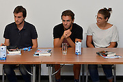 DESCRIZIONE: Berlino EuroBasket 2015 - Allenamento<br /> GIOCATORE:Giorgio platrinieiri<br /> CATEGORIA: Conferenza Stampa<br /> SQUADRA: Italia Italy<br /> EVENTO:  EuroBasket 2015 <br /> GARA: Berlino EuroBasket 2015 - Allenamento<br /> DATA: 04-09-2015<br /> SPORT: Pallacanestro<br /> AUTORE: Agenzia Ciamillo-Castoria/M.Longo<br /> GALLERIA: FIP Nazionali 2015<br /> FOTONOTIZIA: Berlino EuroBasket 2015 - Allenamento