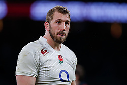 Flanker Chris Robshaw (capt) looks dejected after England win the match but come up just 6 points short of winning the Six Nations Championship - Photo mandatory by-line: Rogan Thomson/JMP - 07966 386802 - 21/03/2015 - SPORT - RUGBY UNION - London, England - Twickenham Stadium - England v France - 2015 RBS Six Nations Championship.