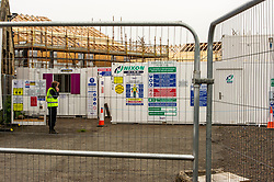 With Covid 19 lockdown restrictions being slowly lifted, construction companies are making preparation to return to work with appropraie safety measures to ensure their staff are safe. Hart Builders are keen to complete new houses in Penicuik so safety measures have to be tested.