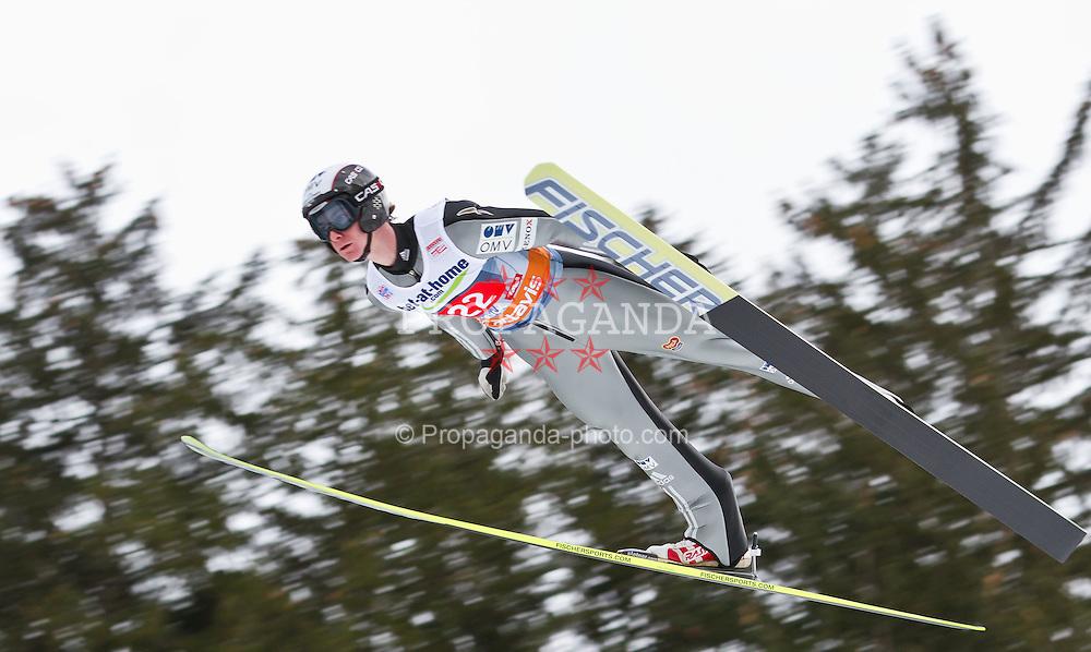 04.01.2012, Bergisel-Stadion, Innsbruck, AUT, 60. Vierschanzentournee, FIS Ski Sprung Weltcup, 1. Wertungssprung, im Bild Lukas Hlava (CZE) // Lukas Hlava of Czech Republic during 1st Round of 60th Four-Hills-Tournament FIS World Cup Ski Jumping at Bergisel-Stadion, Innsbruck, Austria on 2012/01/04. EXPA Pictures © 2012, PhotoCredit: EXPA/ Peter Rinderer