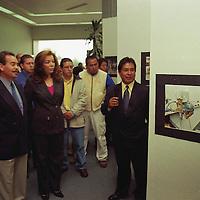Toluca, Méx.-Inauguración de la exposición colectiva Vidas Coidianas de la Asociacion de reporteros graficos del Valle de Toluca. Agencia MVT / Arturo Rosales. (FILM)<br /> <br /> NO ARCHIVAR - NO ARCHIVE