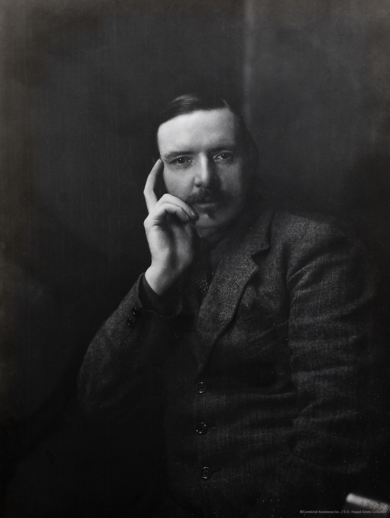 Robert Stevenson, son of Robert Louis Stevenson, Scotland, UK, 1926