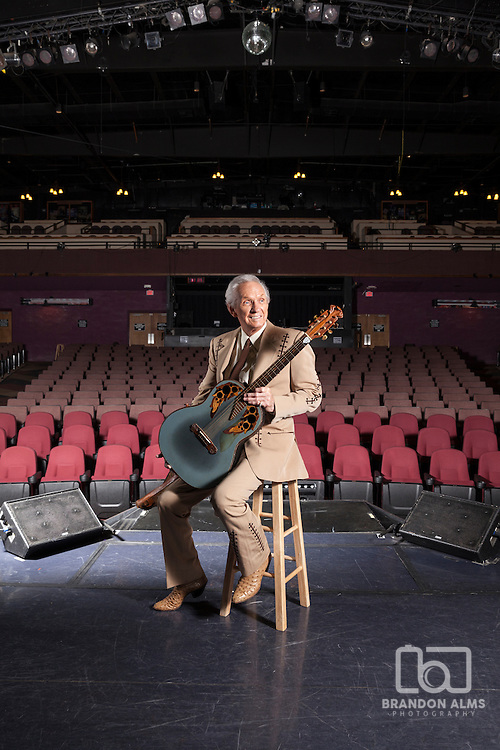 Mel Tillis at his theatre in Branson, Missouri