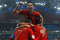 WM 2018, Portugal - Spanien Portugal vs Spain SOCHI, SC - 15.06.2018: PORTUGAL VS SPAIN - Pepe celebrates goal during the match between Portugal and Spain valid for the World Cup 2018 held at the Olympic Stadium of Fisht in Sochi, Russia. (Photo: Ricardo Moreira/Fotoarena) x1550882x PUBLICATIONxNOTxINxBRA RicardoxMoreira