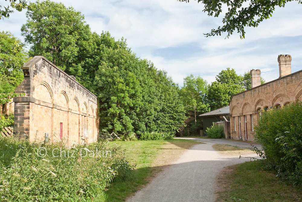 The former Bakewell Station on the Monsal Trail (both routes)