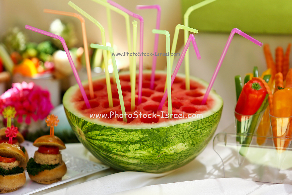 Watermelon juice, This image has a restriction for licensing in Israel