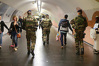 metro security, Paris