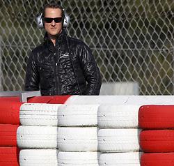 09.03.2011, Circuit de Catalunya, Barcelona, ESP, Formel 1 Test 4 2011,Michael Schumacher (GER), Mercedes GP EXPA Pictures © 2011, PhotoCredit: EXPA/ nph/  Poleposition.at ******* only for AUT, SLO *********