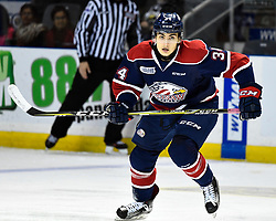 Ben Badalamenti of the Saginaw Spirit. Photo by Aaron Bell/OHL Images