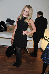 POPPY JAMIE at a party to celebrate the launch of the Casio Tokyo watch in association with Flashtrash.com held at itsu, 10a Blandford Road, London W1 on 28th January 2013.