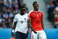 Breel Embolo Switzerland, Bacary Sagna France <br /> Lille 19-06-2016 Stade de Pierre Mauroy Footballl Euro2016 Switzerland - France / Svizzera - Francia Group Stage Group A. Foto Matteo Ciambelli / Insidefoto