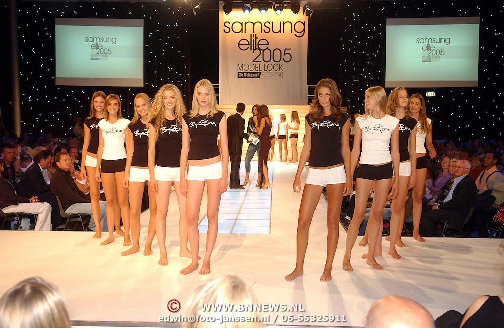 NLD/Amsterdam/20050908 - Finale Elite Modellook 2005, deelneemsters, laatste 10