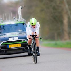 09-04-2016: Wielrennen: Energiewachttour vrouwen: Roden<br /> LEEK (NED) wielrennen<br /> De vijfde etappe van de Energiewachttour was een individuele tijdrit met start en finish in Leek. Floortje Mackay zal waarschijn de beste jongere zijn in de Energiewachttour