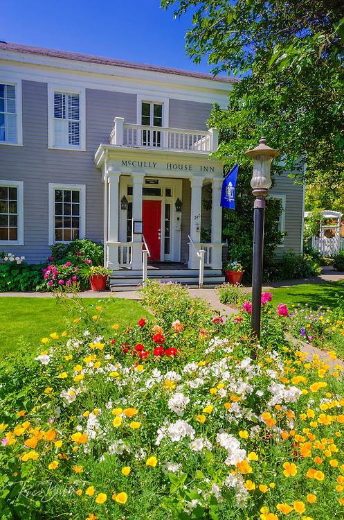 The McCully House Inn, Jacksonville, Oregon USA