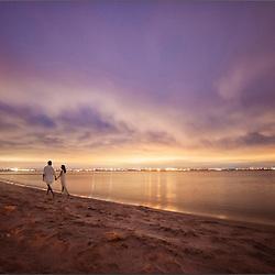 Silver Strand State Beach, San Deigo
