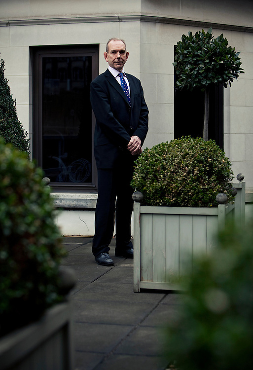 Chris Blackham, photographed in London 22nd February 2010