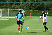 Erik Lamela during Tottenham Training Session at Tottenham Training Centre, Enfield, United Kingdom on 13 September 2016. Photo by Jon Bromley.